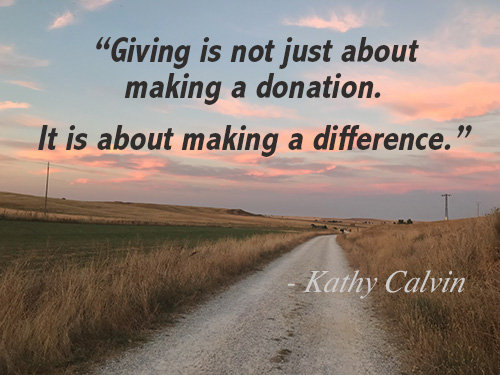 donations quote